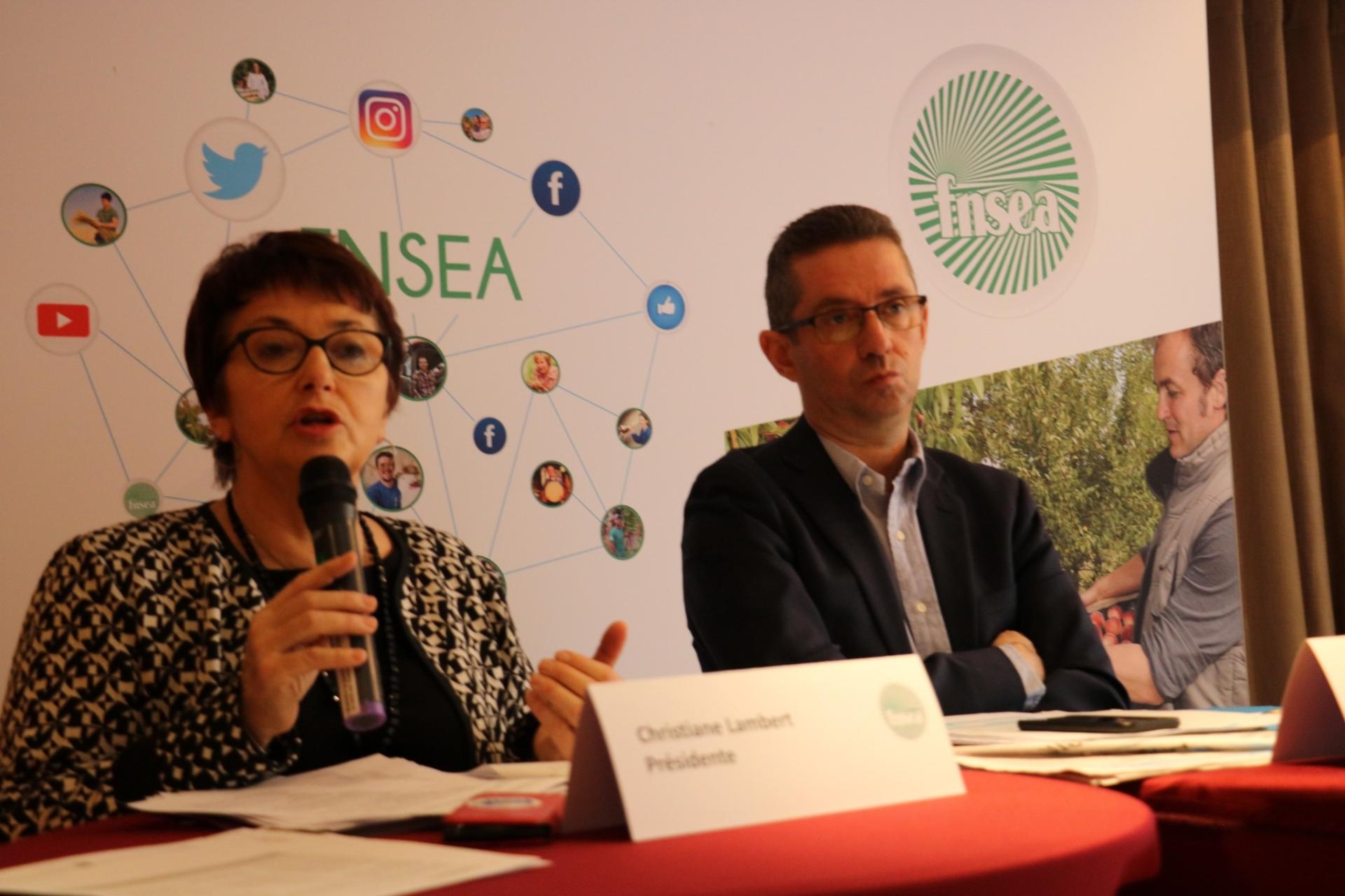 Interview croisée de Christiane Lambert, présidente, et de Jérôme Despey, secrétaire général